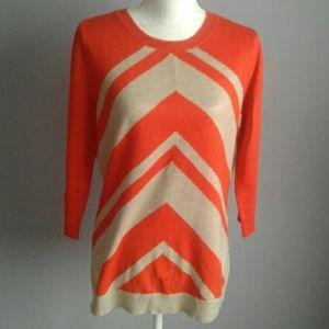 Ny&CO Chevron Crew Sweater